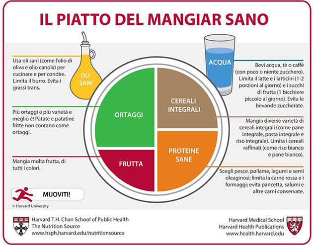Il piatto del mangiar sano - Copyright © 2011 Harvard University